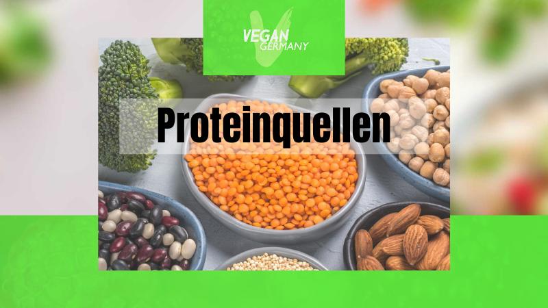 Proteinquellen vegan